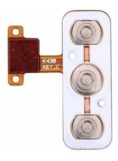 Cabo Flex Botao Power E Volume Lg K10 K430