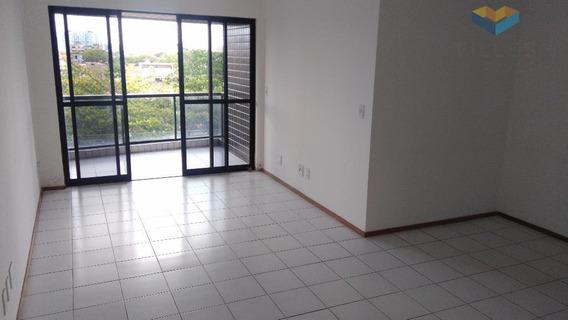 Ed. Villa Del Mare Apartamento Residencial À Venda, Jatiúca, Maceió. - Ap0213