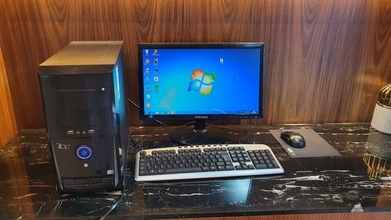 Computador Completo: Cpu, Monitor, Teclado E Mouse