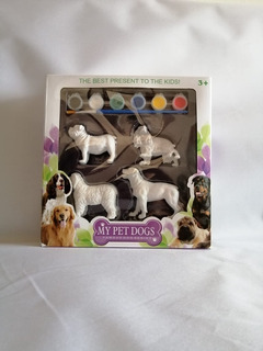 Set Figuras Para Pintar Animales