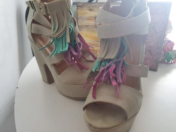 Zapatos Taco Ancho (12cm)
