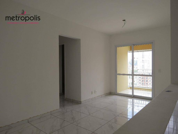 Apartamento À Venda, 67 M² Por R$ 430.000,00 - Olímpico - São Caetano Do Sul/sp - Ap0605