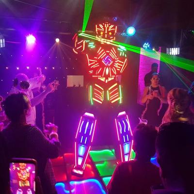 Robô De Led Megatron Festa Casamento Aniversário 15 Anos