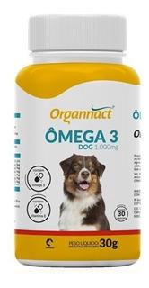 Omega 3 Dog 1000 Mg Organnact 30 G Suplemento Vitaminico