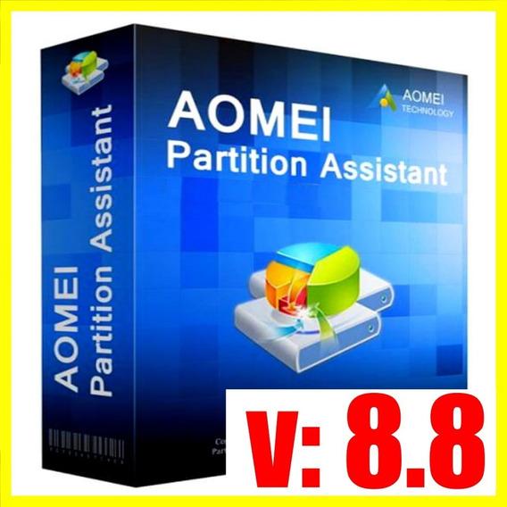 Aomei Partition Assistant 8.8 - Entrega Rápida