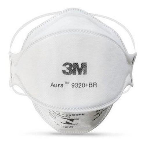Imagem 1 de 2 de Respirador Descartável Aura 9320 Br Pff2 P2 Inmetro Ca30592