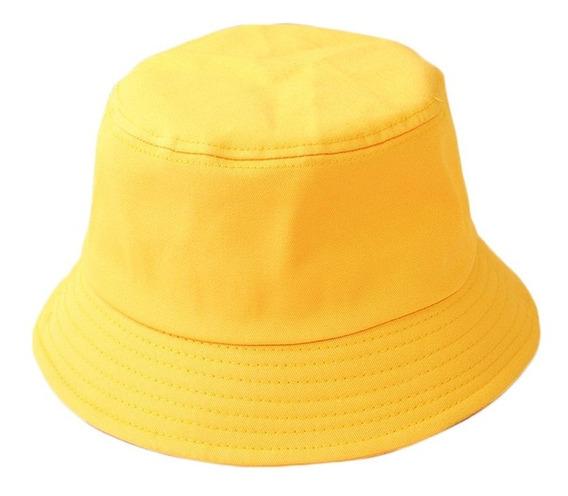 Gorros Bucket Hat Para Mujer Sombrero De Pescador Negro