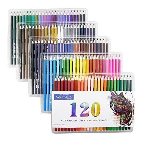 120 Lapices De Colores Al Oleo, Lapices De Colores Southsun