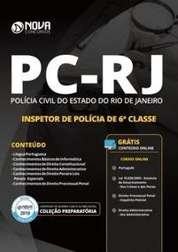 Apostila Para Polícia Civil - Rj - Inspetor - 2019