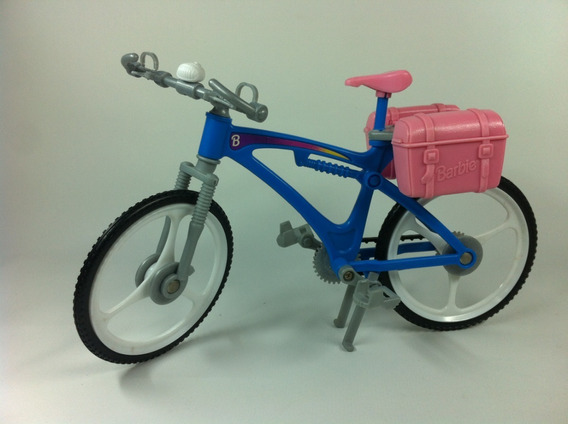 Mini Bicicleta Boneca Barbie Susi Brinquedo Antigo Mattel
