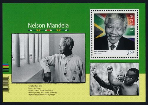 Imagen 1 de 1 de Canadá 2015 : Nelson Mandela , Historia , Racismo , Derechos