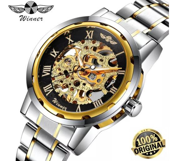 Relógio Masculino Winner Automático (original)
