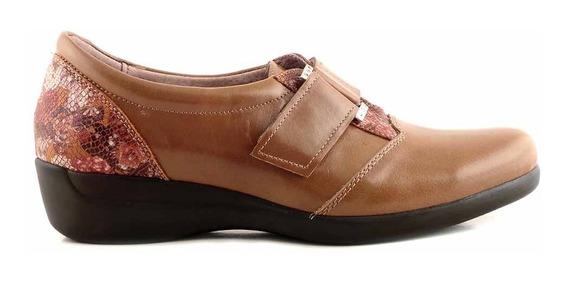 Zapato Briganti Mujer Cuero Zapatilla Confort - Mczp05238 Pc