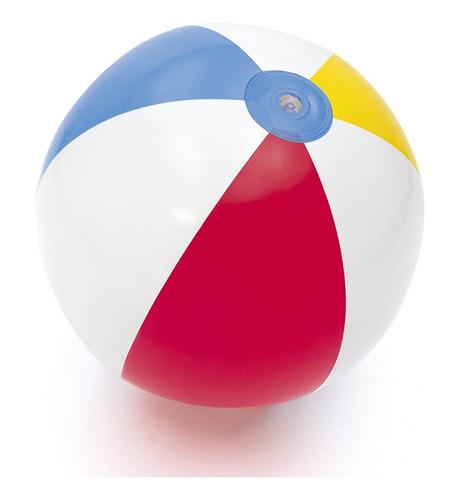 Pelota Playera Inflable Pileta Playa Colores 61 Cm Bestway