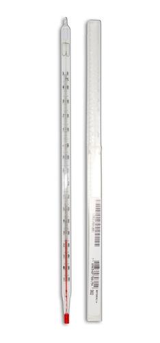 Termômetro Químico Liquido Vermelho -10+150 Incoterm 5022