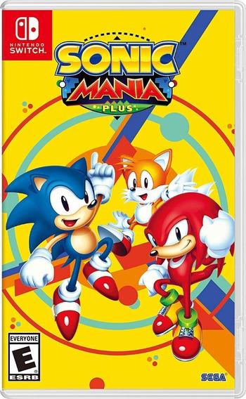Sonic Mania Switch Midia Fisica Lacrado