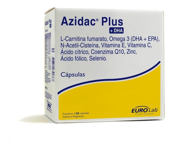Eurolab Azidac Plus Dha Fertilidad Masculina 120 Cápsulas