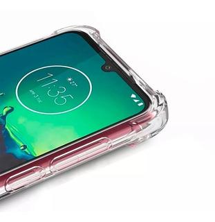 Funda Reforzada Motorola Moto E6 Plus + Glass Full 9d