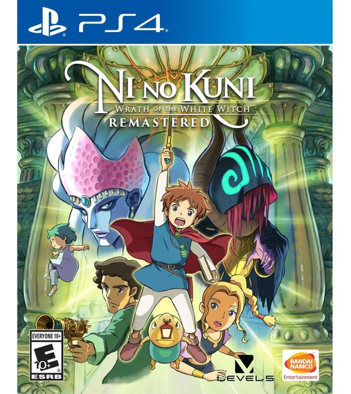 Ni No Kuni Wrath Of The White Witch Remastered Ps4 Novo