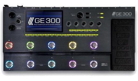 Pedaleira Multi-efeitos P/ Guitarra Ge300 - Mooer