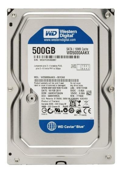 Disco Duro 500gb 3.5 Wd Y Seagate Sata Pc Dvr