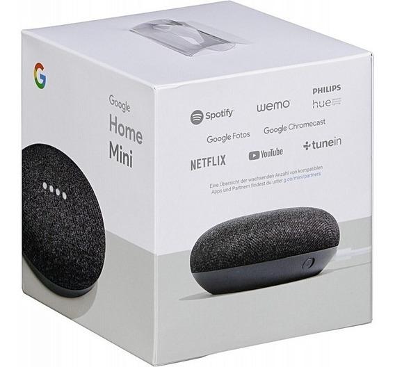 Google Home Mini Cx De Comando Por Voz C/ Google Assistente