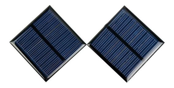 Placa Painel Solar 5 Volts Arduíno Luz De Emergência