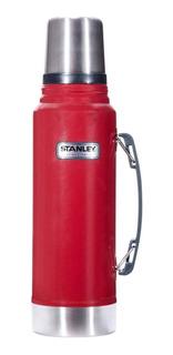 Termo Stanley Classic 1 L. Rojo Cuotas