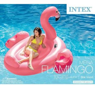 Flotador Salvavidas Intex Mega Flamingo