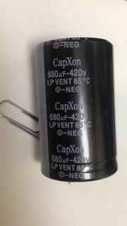 Capacitor Eletrolítico 680uf X 420v 85°