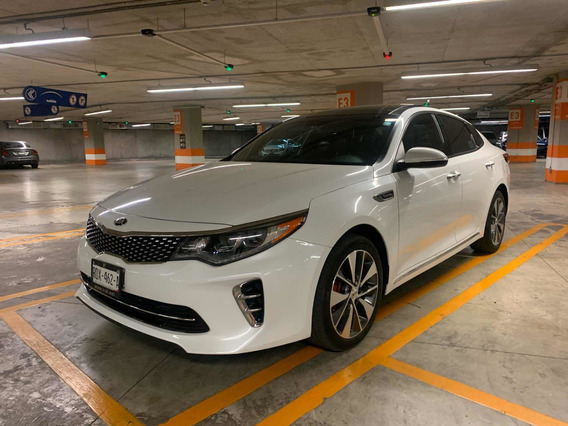 Kia Optima Sxl Blanco 2017