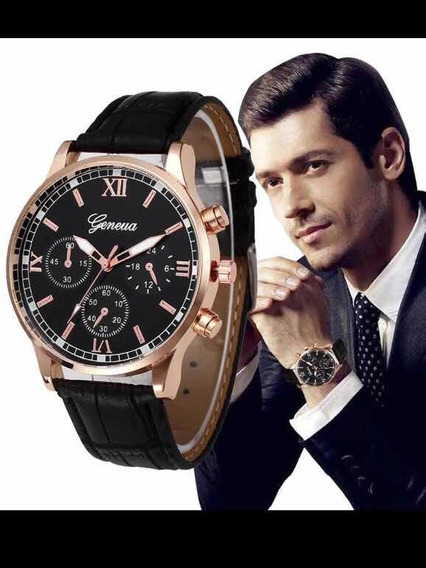 Relógio Masculino Geneva Geração X Lo4 - 100% Confiável