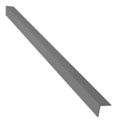 Cantoneira L Pvc Cinza Escuro 20x20x1,5mm X 3,0m - Perfimax