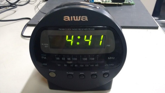 Rádio Receiver Aiwa Fr-al35h, 4w, Aceita Bateria 9v, Genuíno