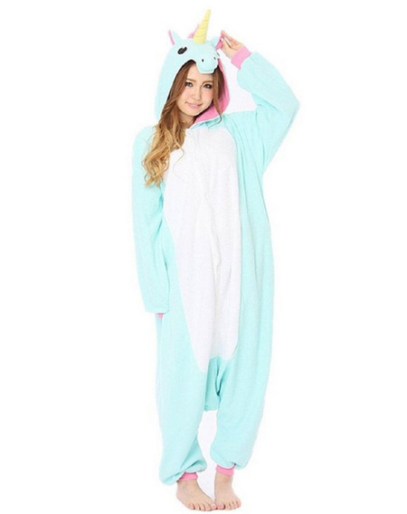 Pijama Unicórnio Kigurumi Adulto E Infantil Pronta Entrega