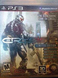 Como Nuevo!! Juego Físico Ps3 Original Crysis 2