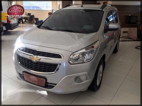 Chevrolet Spin 1.8 Lt Automático 2015 Prata Flex