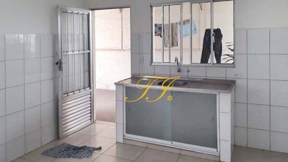 02 Cômodos Com Vaga De Garagem Para Alugar, 50 M² Por R$ 800/mês - Gopoúva - Guarulhos/sp - Ca0071