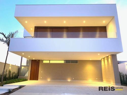Casa Com 5 Dormitórios À Venda, 425 M² Por R$ 3.250.000,00 - Alphaville Nova Esplanada I - Votorantim/sp - Ca1644