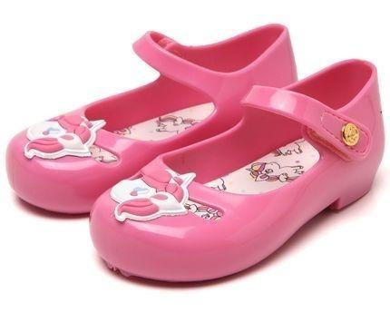 Sapatilha Unicórnio Rosa Colorê Infantil Pimpolho 32682e