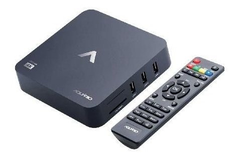 Receptor Smart Tv Box 4k Andoid Versao 7.1.2 Nougat Stv-2000
