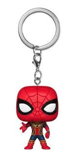 Chaveiro Funko Pocket Pop Iron Spider Avengers Infinity War