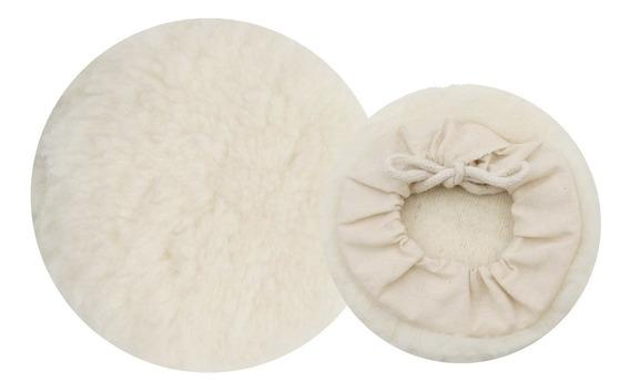 Super Oferta Kit 6 Boinas De Lã Para Polimento Automotivo