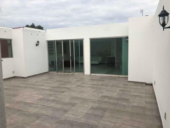 Excelente Departamento Con Roof Garden Privado, 3 Recamaras