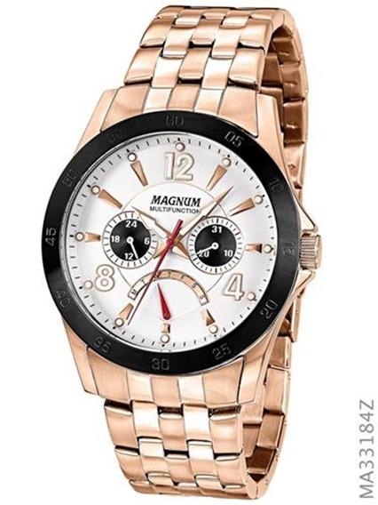 Relógio Magnum Bronze Masculino Ma33184z