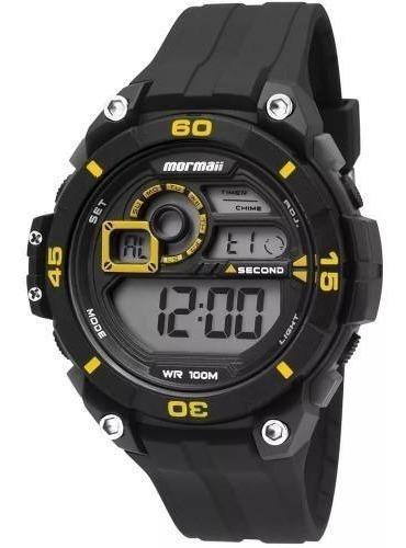Relógio Unissex Mormaii Black Wave Mo2019ac/8p
