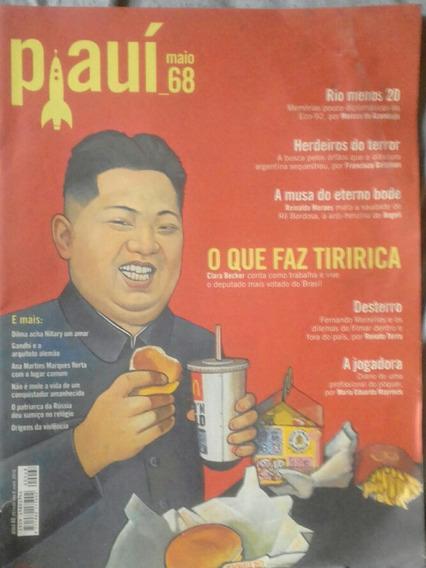 Revista Piauí 68 O Que Faz Tiririca