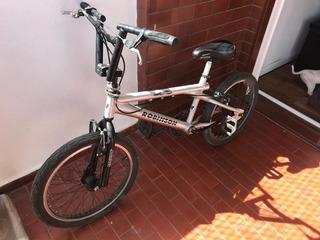 Bicicleta Bmx Gris Aluminio Excelente
