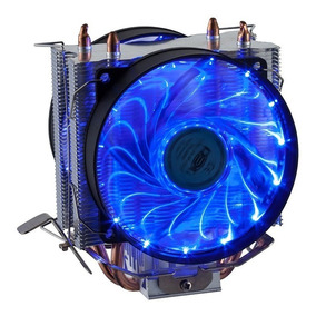 Cooler Duplo Dual Fan Cpu Pc Intel Amd 775 1150 1151 Am3+
