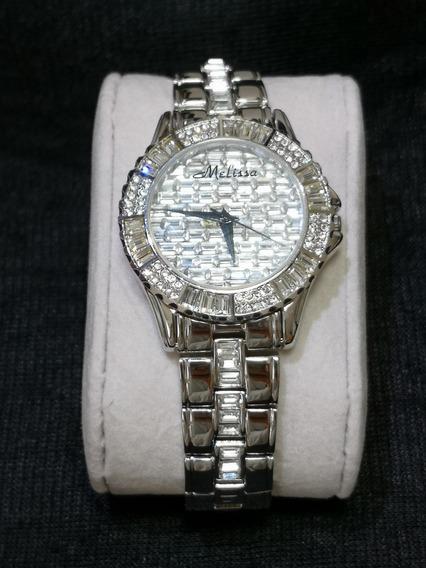 Relógio Feminino Japan Quartz - Cristal Swarovski - Swk002